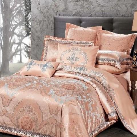 Двуспальное постельное бельё ЖАККАРД 100%