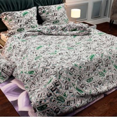 Евро постельное белье БЯЗЬ 100% хлопок  157009