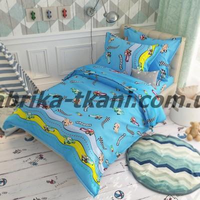 Детское постельное белье БЯЗЬ 100% хлопок Тиротекс Тачки 0123