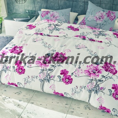 Семейное постельное белье БЯЗЬ 100% хлопок Тиротекс 0133