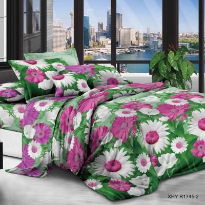 Евро постельное белье полиСАТИН 3D (поликоттон) 851745