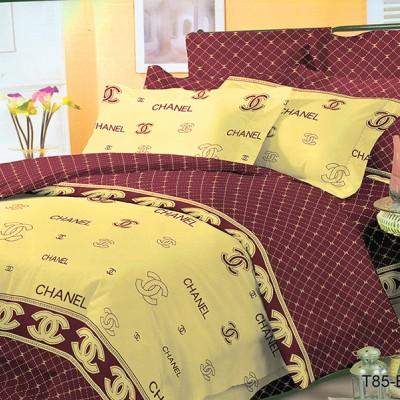 Евро постельное белье полиСАТИН 3D (поликоттон) 852835