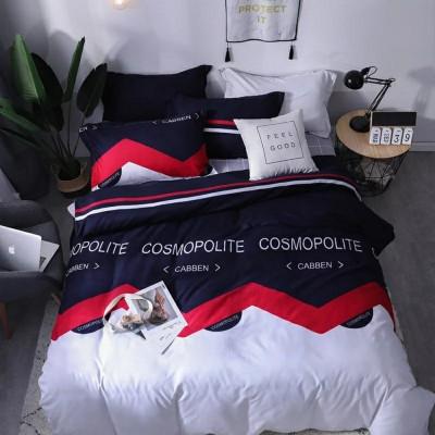 Семейное постельное белье БЯЗЬ 100%  150506