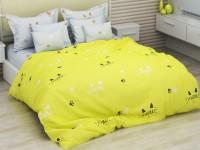 Двуспальное постельное белье БЯЗЬ 100% хлопок 154154