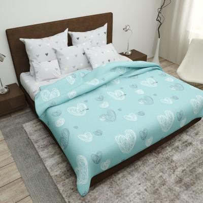 Двуспальное постельное белье БЯЗЬ 100% хлопок 154277