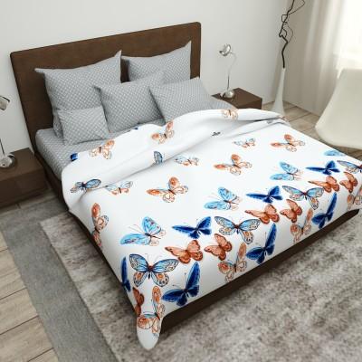 Двуспальное постельное белье БЯЗЬ 100% хлопок 154329