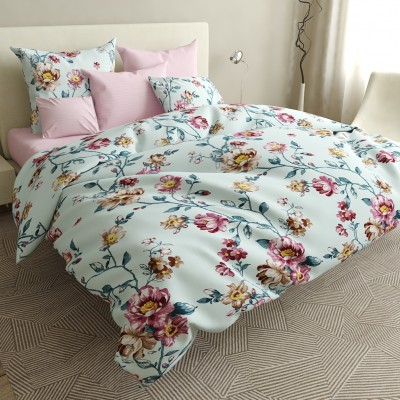 Полуторное  постельное белье БЯЗЬ 100% хлопок  154396