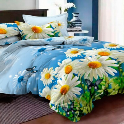 Двуспальное постельное белье БЯЗЬ 100% хлопок 154488