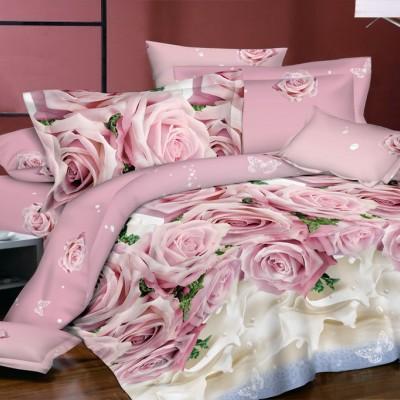 Двуспальное постельное белье БЯЗЬ 100% хлопок 154491