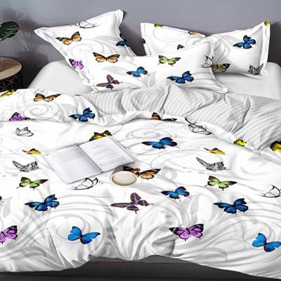 Двуспальное постельное белье БЯЗЬ 100% хлопок 154496