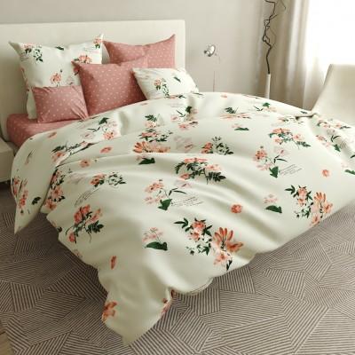 Двуспальное постельное белье БЯЗЬ 100% хлопок 154503