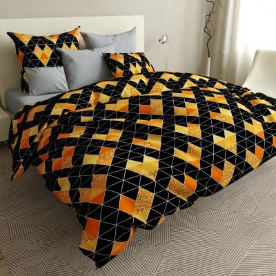 Двуспальное постельное белье БЯЗЬ 100% хлопок 154508