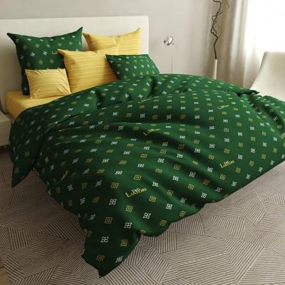 Двуспальное постельное белье БЯЗЬ 100% хлопок 154522