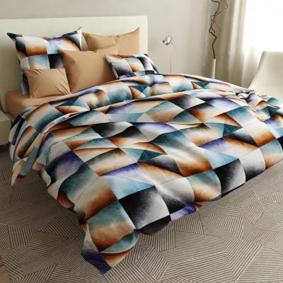 Полуторное  постельное белье БЯЗЬ 100% хлопок  154527