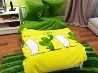 Семейное постельное белье БЯЗЬ 100% хлопок
