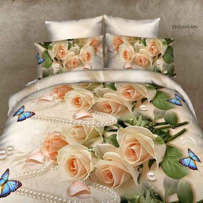 Двуспальное постельное белье БЯЗЬ 100% хлопок 157111
