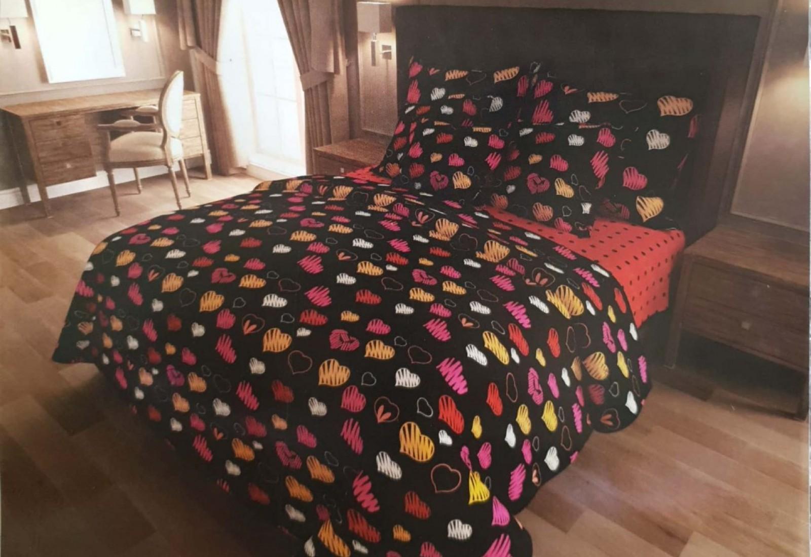 Двуспальное постельное белье БЯЗЬ 100% хлопок