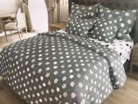 Двуспальное постельное белье БЯЗЬ 100% хлопок 157440