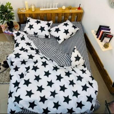 Двуспальное постельное белье БЯЗЬ 100% хлопок 157665