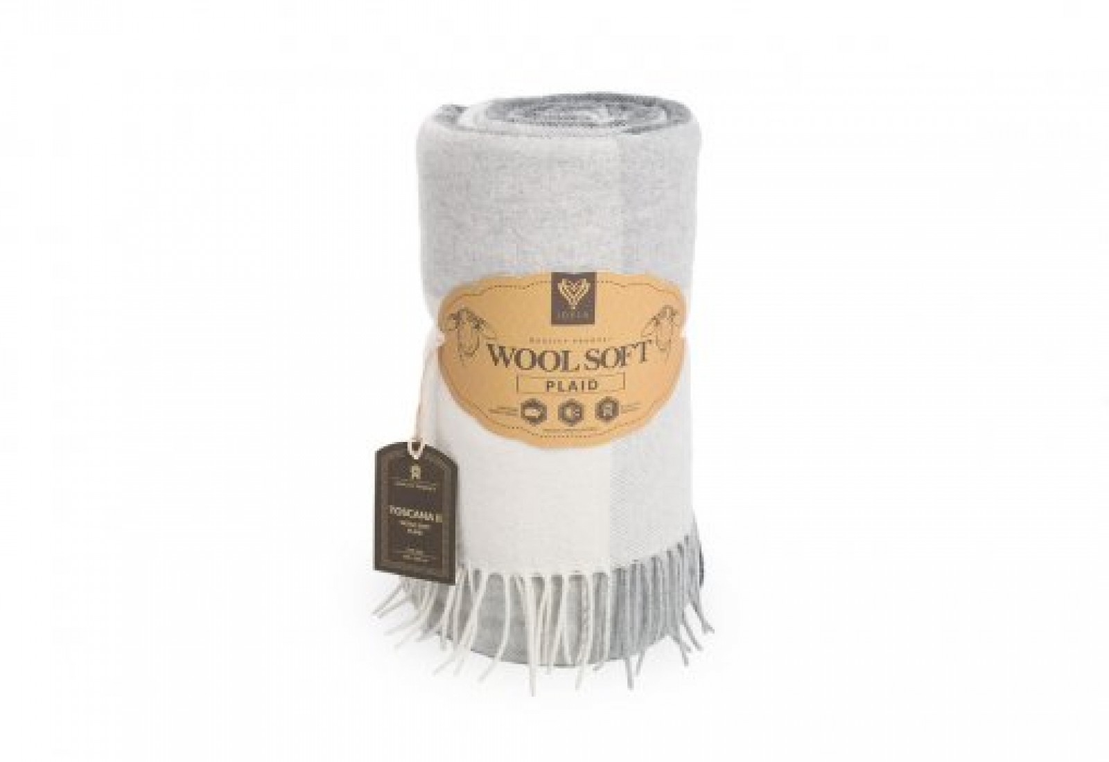 Шерстяной Плед Wool Toscana