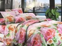 Полуторное постельное белье полиСАТИН 3D (поликоттон) 851433