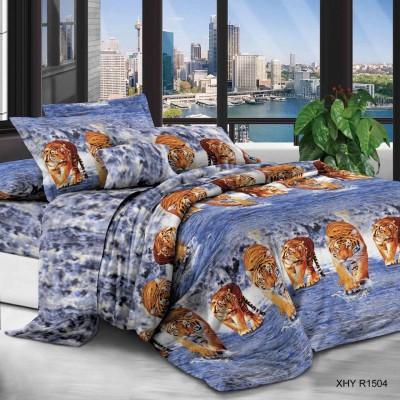 Евро постельное белье полиСАТИН 3D (поликоттон) 851504