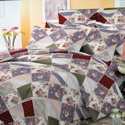 Двуспальное постельное белье полиСАТИН 3D (поликоттон) 85191