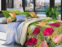 Семейное постельное белье полиСАТИН 3D (поликоттон) 855015