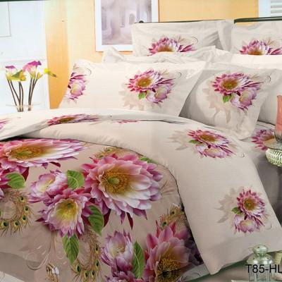 Двуспальное постельное белье полиСАТИН 3D (поликоттон) 857052