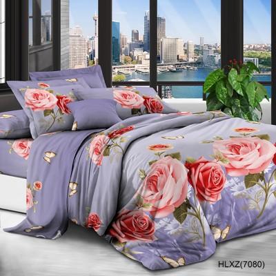 Полуторное постельное белье полиСАТИН 3D (поликоттон) 857080