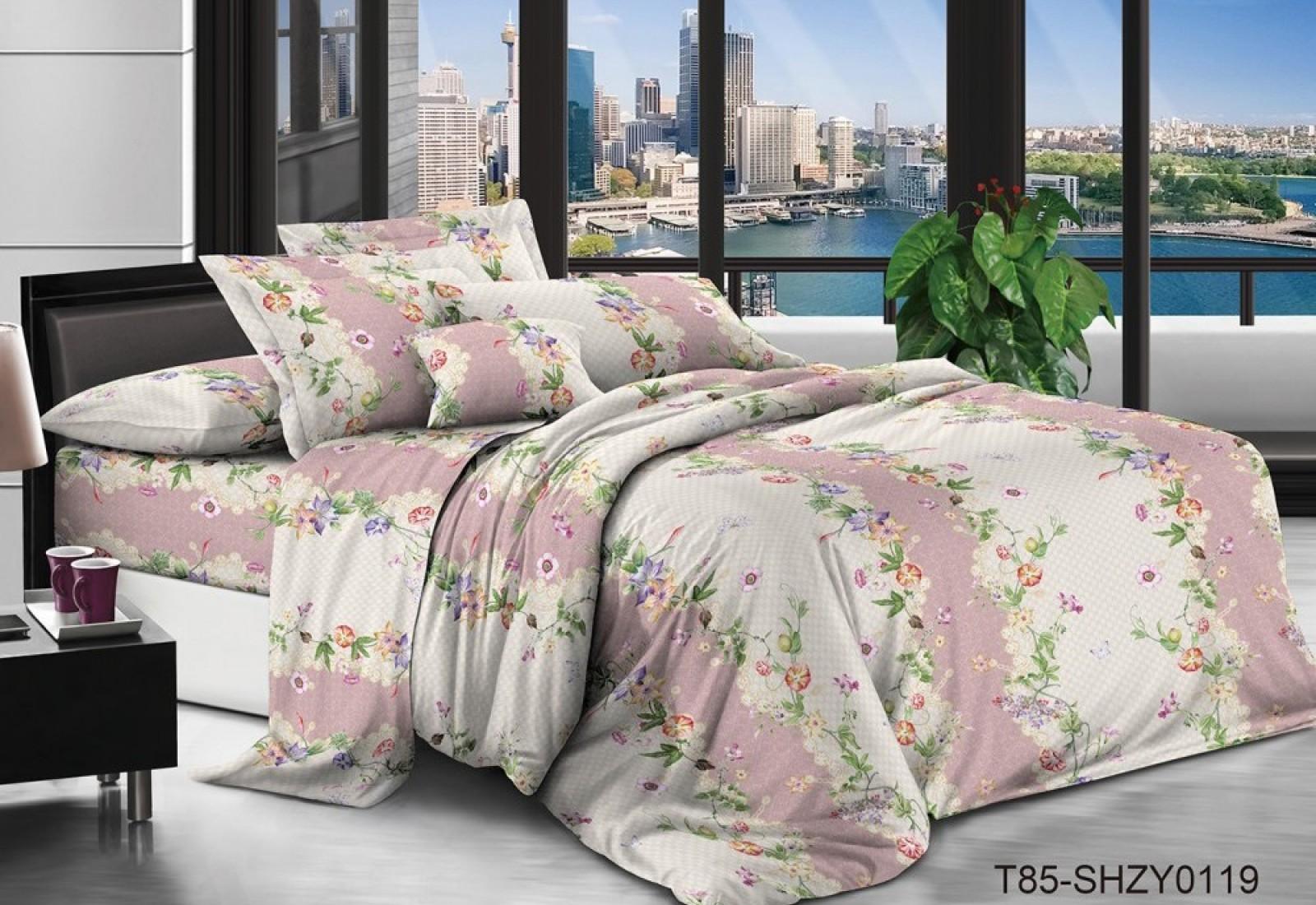 Семейное постельное белье полиСАТИН 3D (поликоттон) 850119