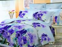 Полуторное постельное белье полиСАТИН 3D (поликоттон) 85013