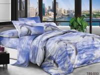 Евро постельное белье полиСАТИН 3D (поликоттон) 85033