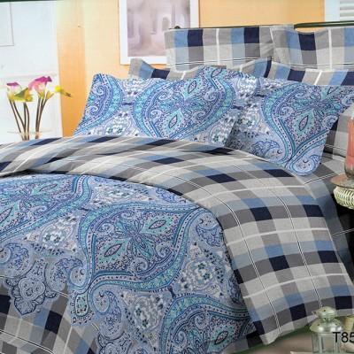 Евро постельное белье полиСАТИН 3D (поликоттон) 85110