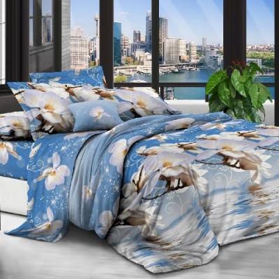 Евро постельное белье полиСАТИН 3D (поликоттон) 85112001