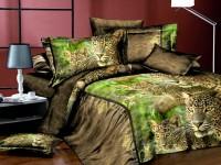 Семейное постельное белье полиСАТИН 3D (поликоттон) 8513055