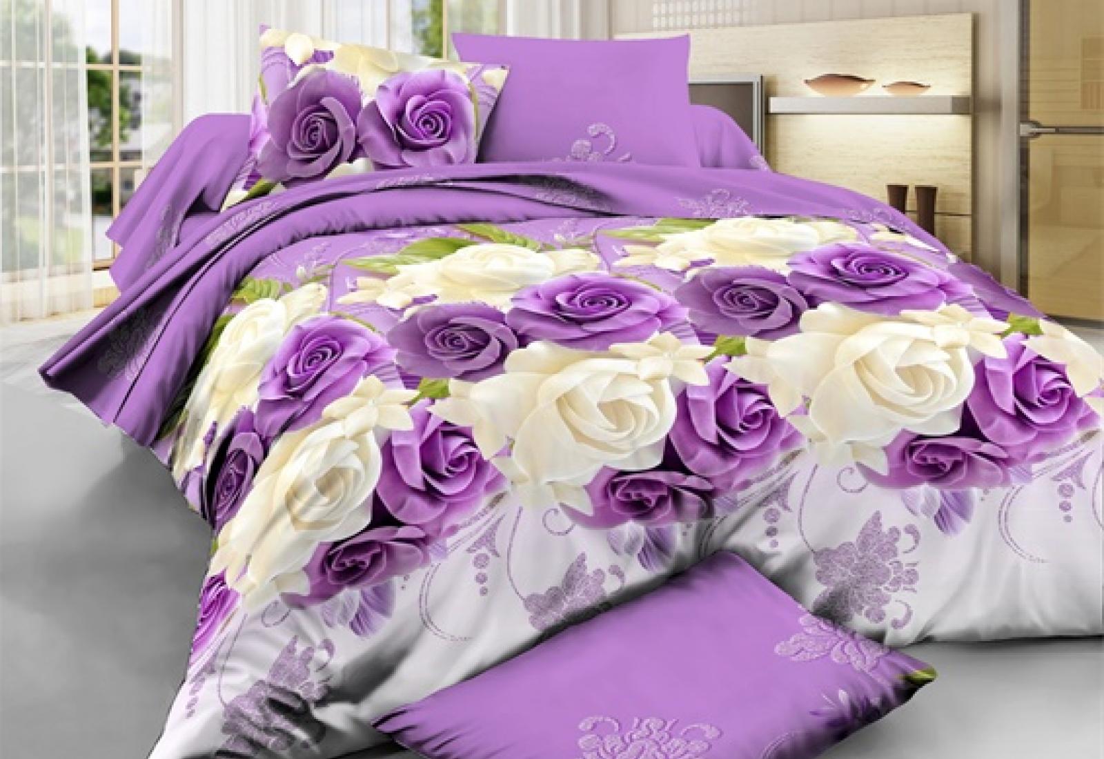 Семейное постельное белье полиСАТИН 3D (поликоттон) 851460