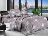 Двуспальное постельное белье полиСАТИН 3D (поликоттон) 85200