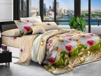 Полуторное постельное белье полиСАТИН 3D (поликоттон) 852130