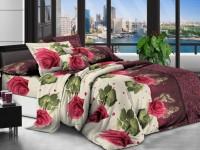 Двуспальное постельное белье полиСАТИН 3D (поликоттон)  852299