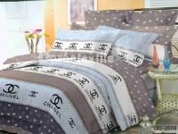 Полуторное постельное белье полиСАТИН 3D (поликоттон)