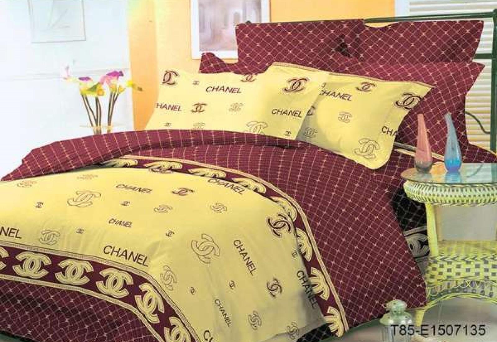 Двуспальное постельное белье полиСАТИН 3D (поликоттон) 852835
