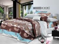 Двуспальное постельное белье полиСАТИН 3D (поликоттон) 852843