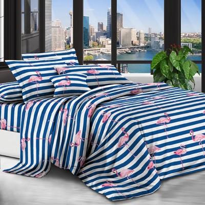 Евро постельное белье полиСАТИН 3D (поликоттон) 852873