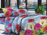 Семейное постельное белье полиСАТИН 3D (поликоттон) 85414