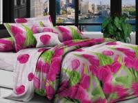 Двуспальное постельное белье полиСАТИН 3D (поликоттон) 85647