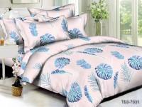 Двуспальное постельное белье полиСАТИН 3D (поликоттон) 857551