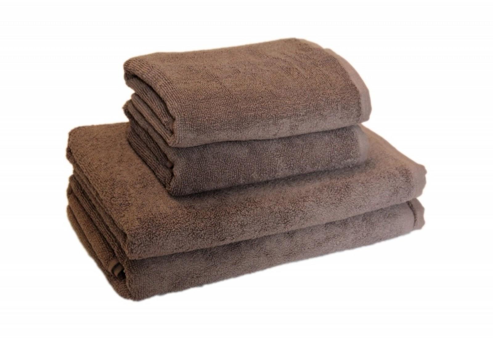 Банное полотенце 70*140-мокко