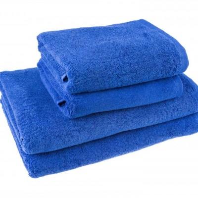 Лицевое полотенце 50х90 синий