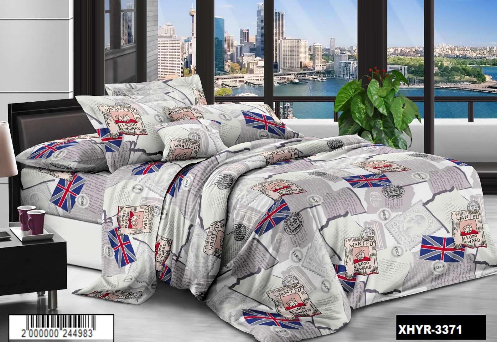 Семейное постельное белье РАНФОРС (бязь) 100% хлопок  883371